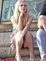 70 pictures - All real city girls upskirt unexpectedly